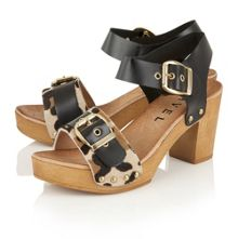 Ravel Rutland block heeled platform sandals