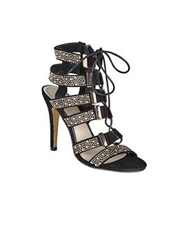 Omak high heeled strappy sandals