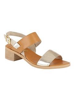 Quincy block heel open toe sandals