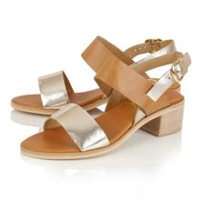 Ravel Quincy block heel open toe sandals