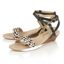 Ravel Fremont low wedge sandals