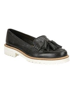 Midway cleated sole slip on loafers