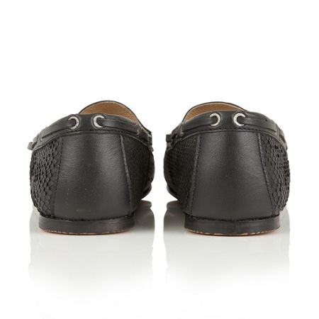 Ravel Eloy snake effect slip on loafers