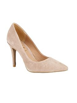 Hamden stiletto heeled court shoes