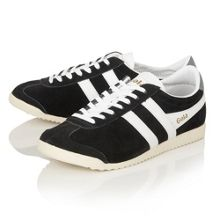 Jacobson Bullet suede lace up trainers
