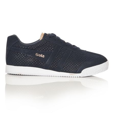 Gola Harrier Glimmer suede trainers