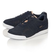 Jacobson Harrier Glimmer suede trainers