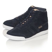 Jacobson Harrier High Glimmer suede trainers