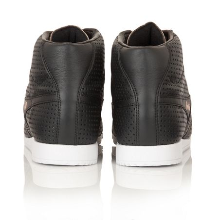 Jacobson Harrier High Glimmer leather trainers