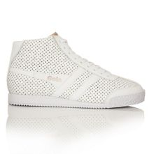 Gola Harrier High Glimmer leather trainers