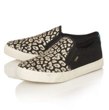 Jacobson Orchid Safari Slip trainers