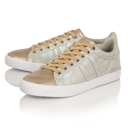 Gola Orchid Super Metallic trainers