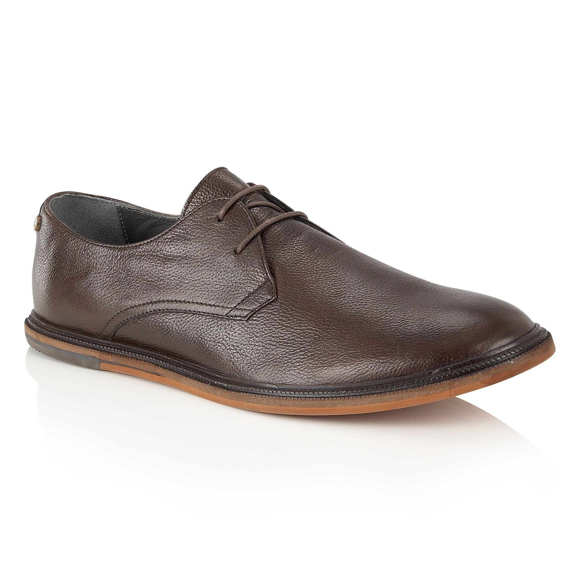 Frank Wright Frank Wright Burley Mens Shoes, Dark Brown
