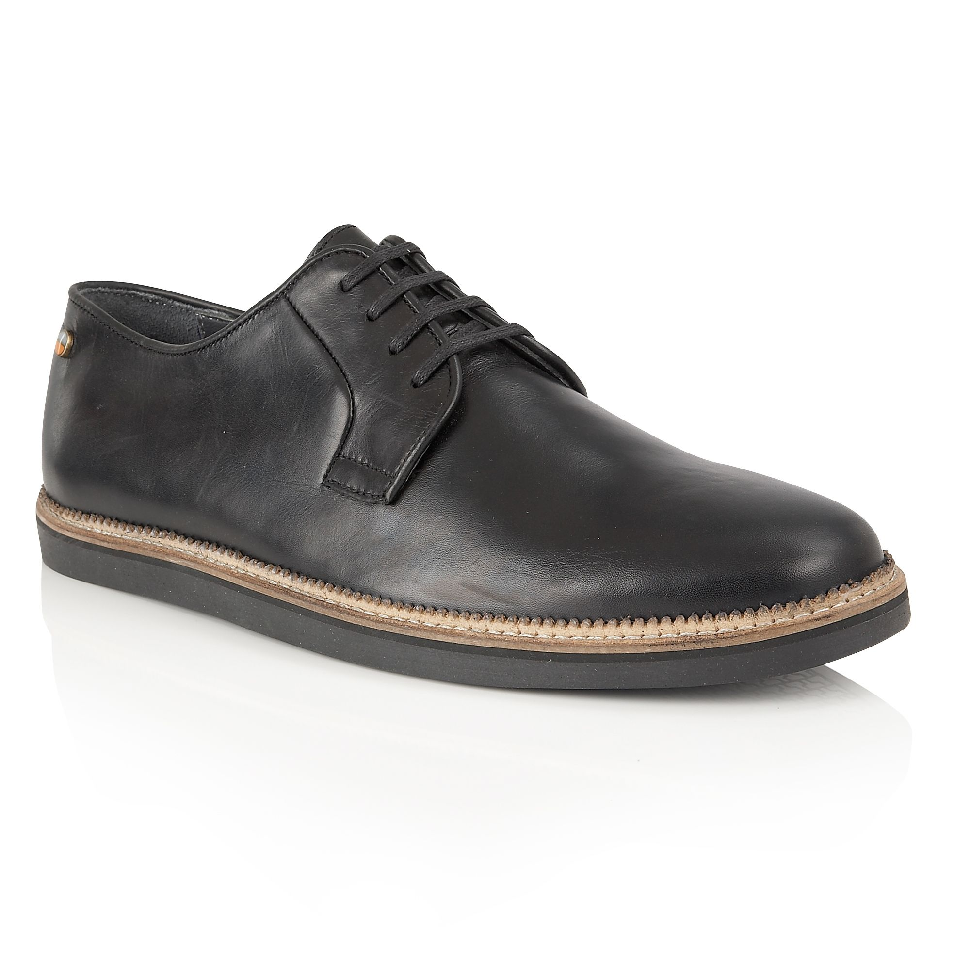 Frank Wright Frank Wright Turpin Mens Shoes, Black