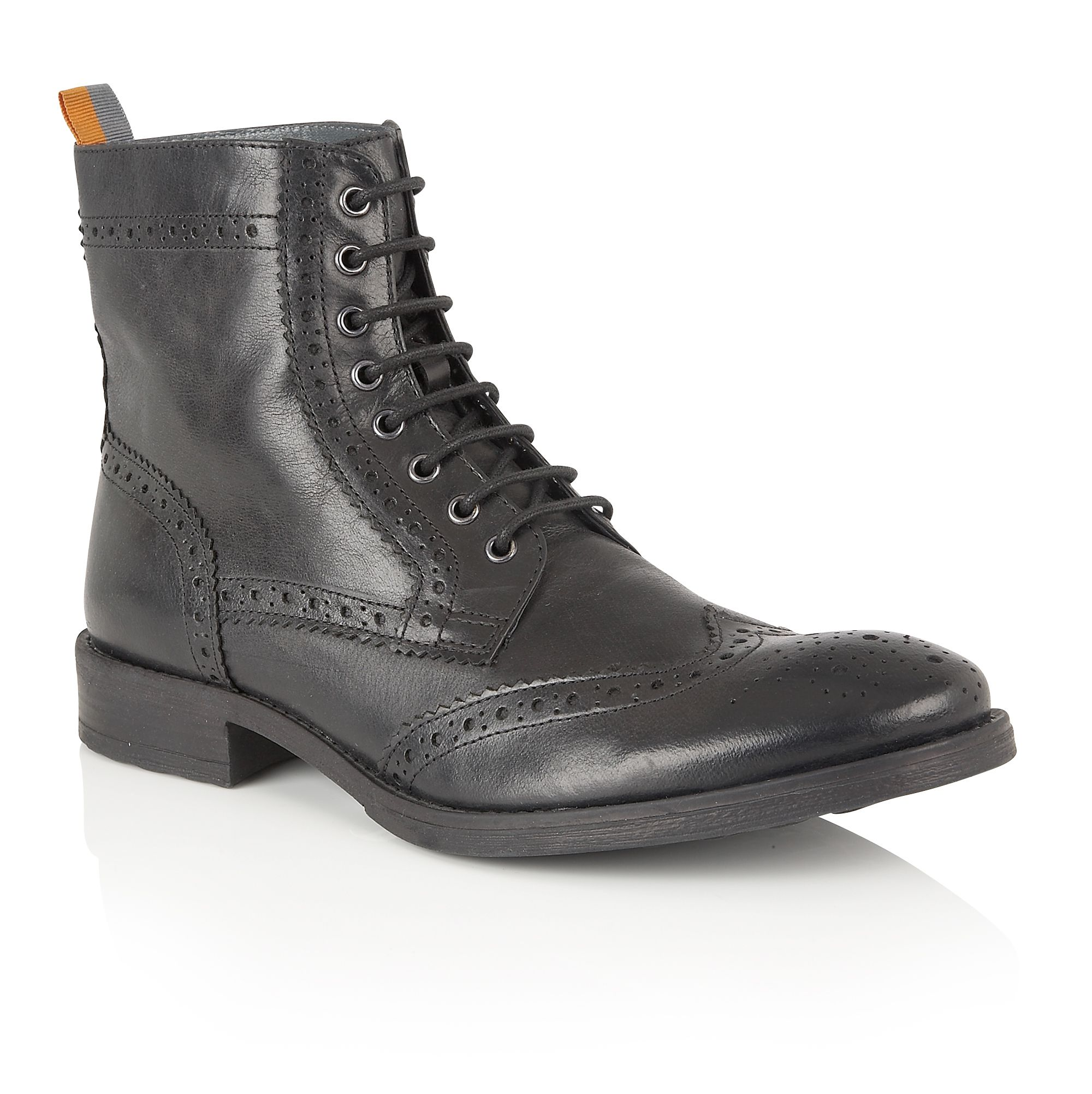 Frank Wright Frank Wright Cypress Mens Boots, Black