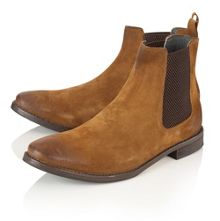 Frank Wright Omar Mens Slip On Gusset Boots