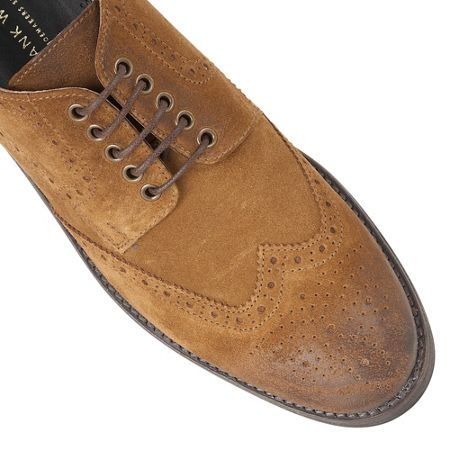 Frank Wright Merc Mens Lace Up Brogues