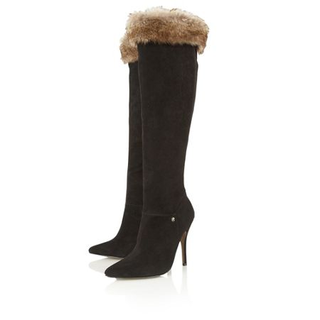 Ravel Crockett knee high boots