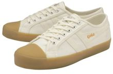 Jacobson Coaster Linen lace up trainers