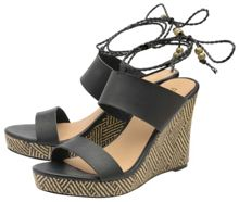 Ravel Gratz Open Toe Wedges