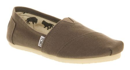 Toms Classic slip on espadrille shoes