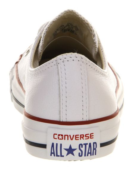 Converse Converse all star low leather trainers