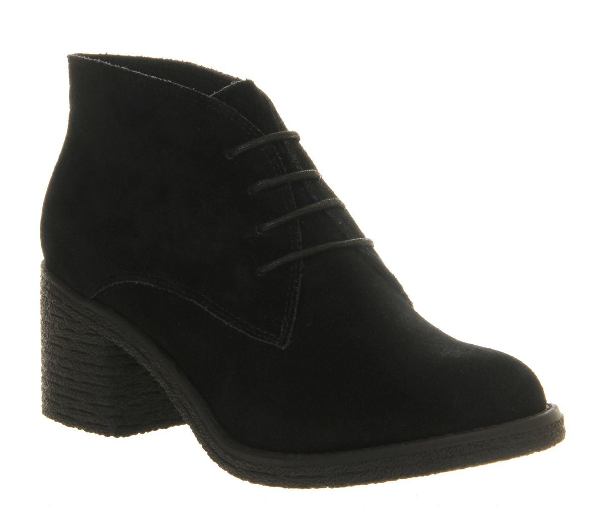 Keeper lace up ankle boots