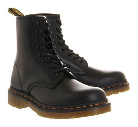 Dr. Martens 8 eyelet lace up boots