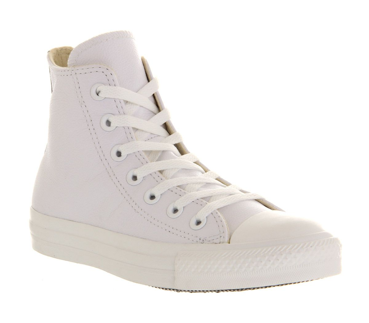 Converse Converse all star hi leather trainers White