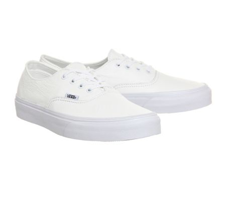 Vans Authentic leather trainers