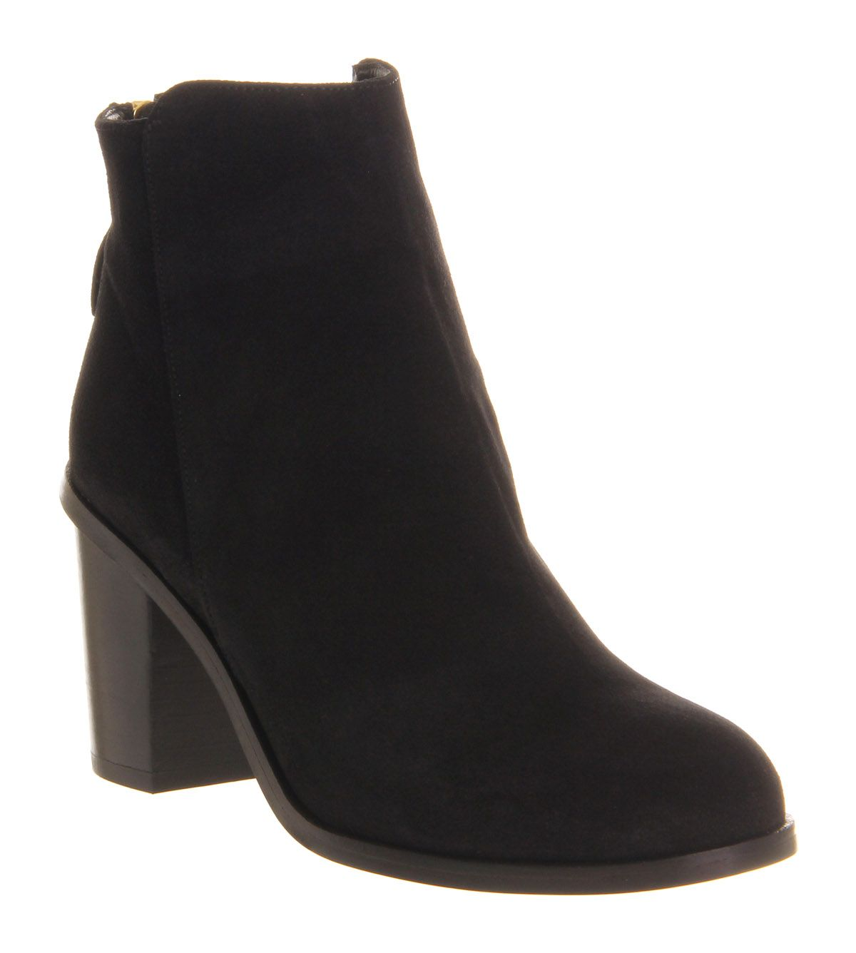 Betty back zip ankle boots