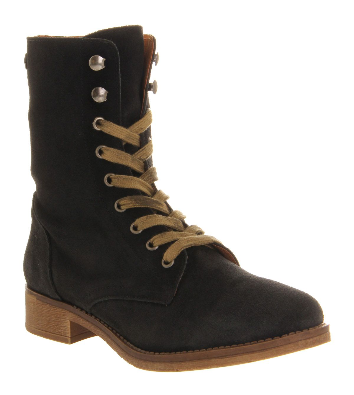Brat pack lace up ankle boots