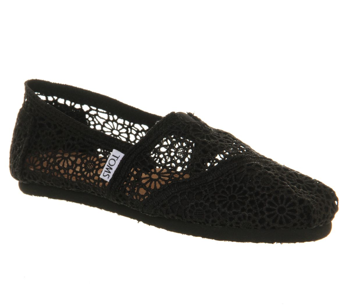 Toms Seasonal  classic slip on espadrilles Black