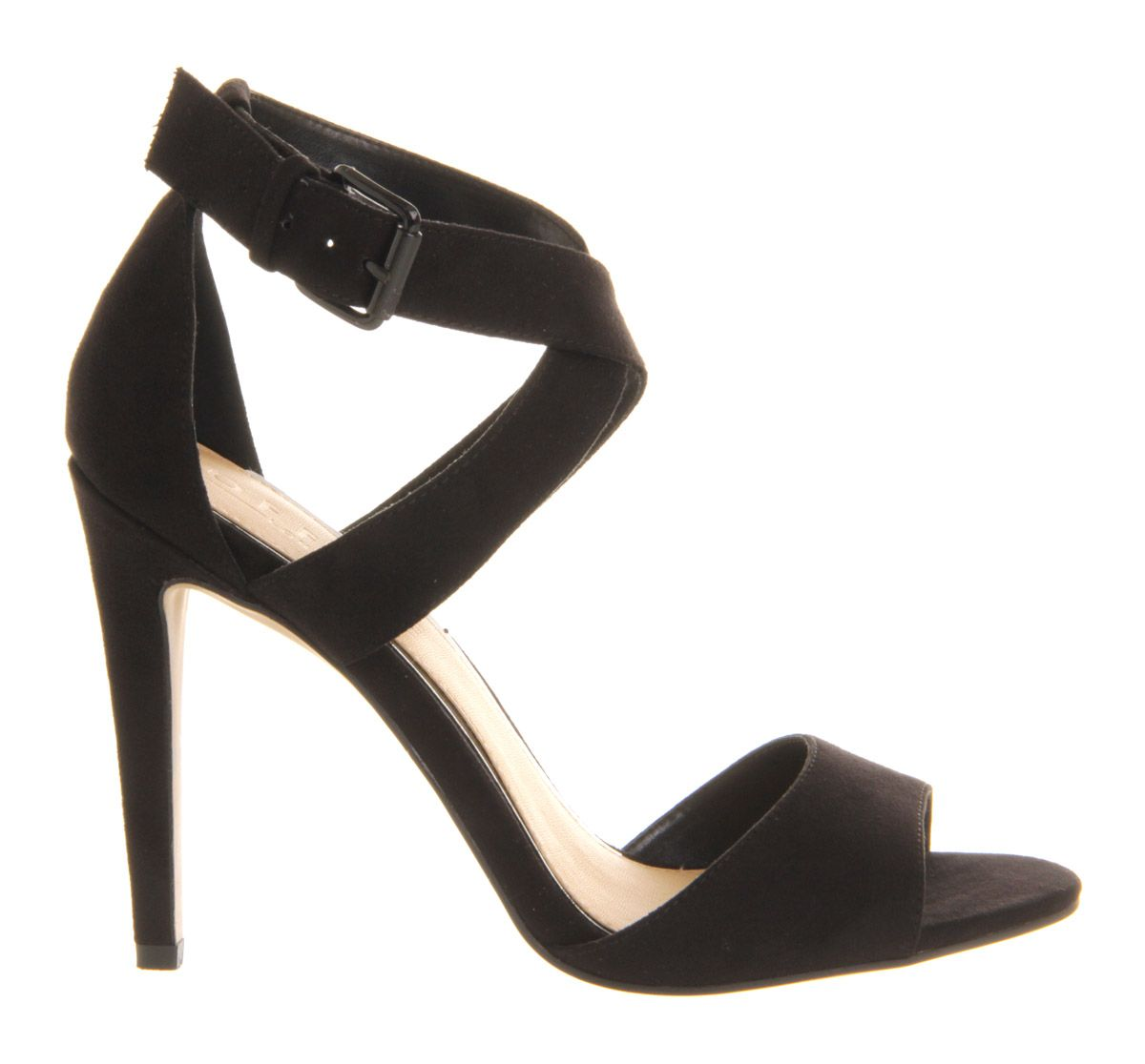 Je t`aime stiletto strappy heel shoes