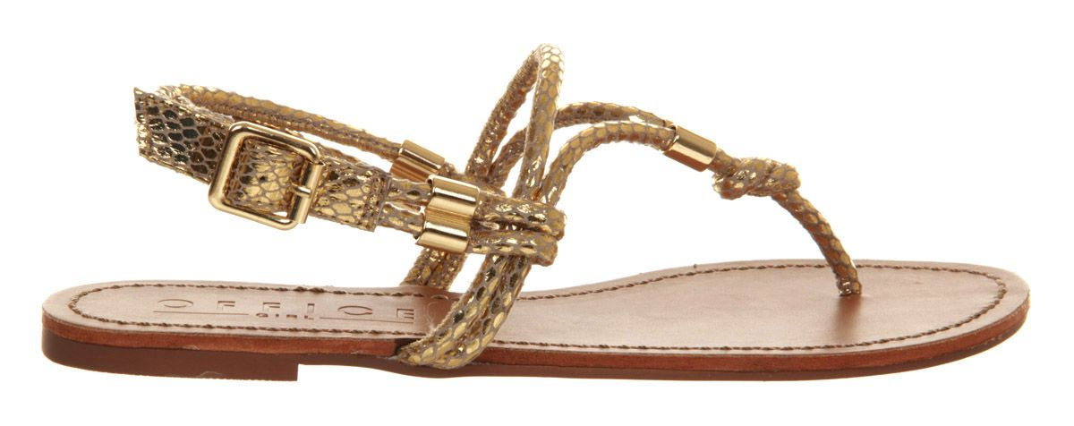 Hula open toe flat buckle sandals