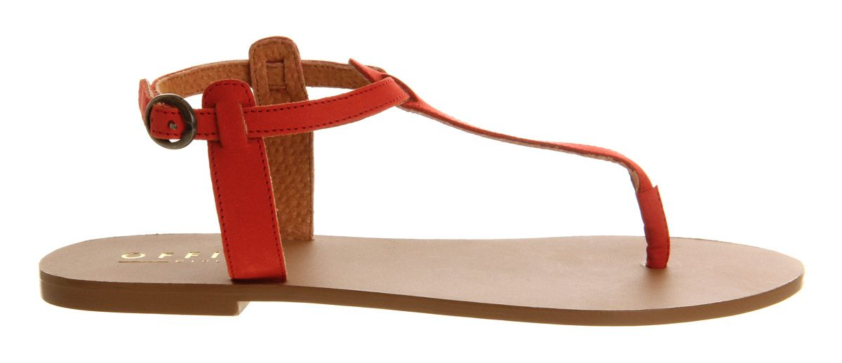 Horizon leather flat buckle sandals