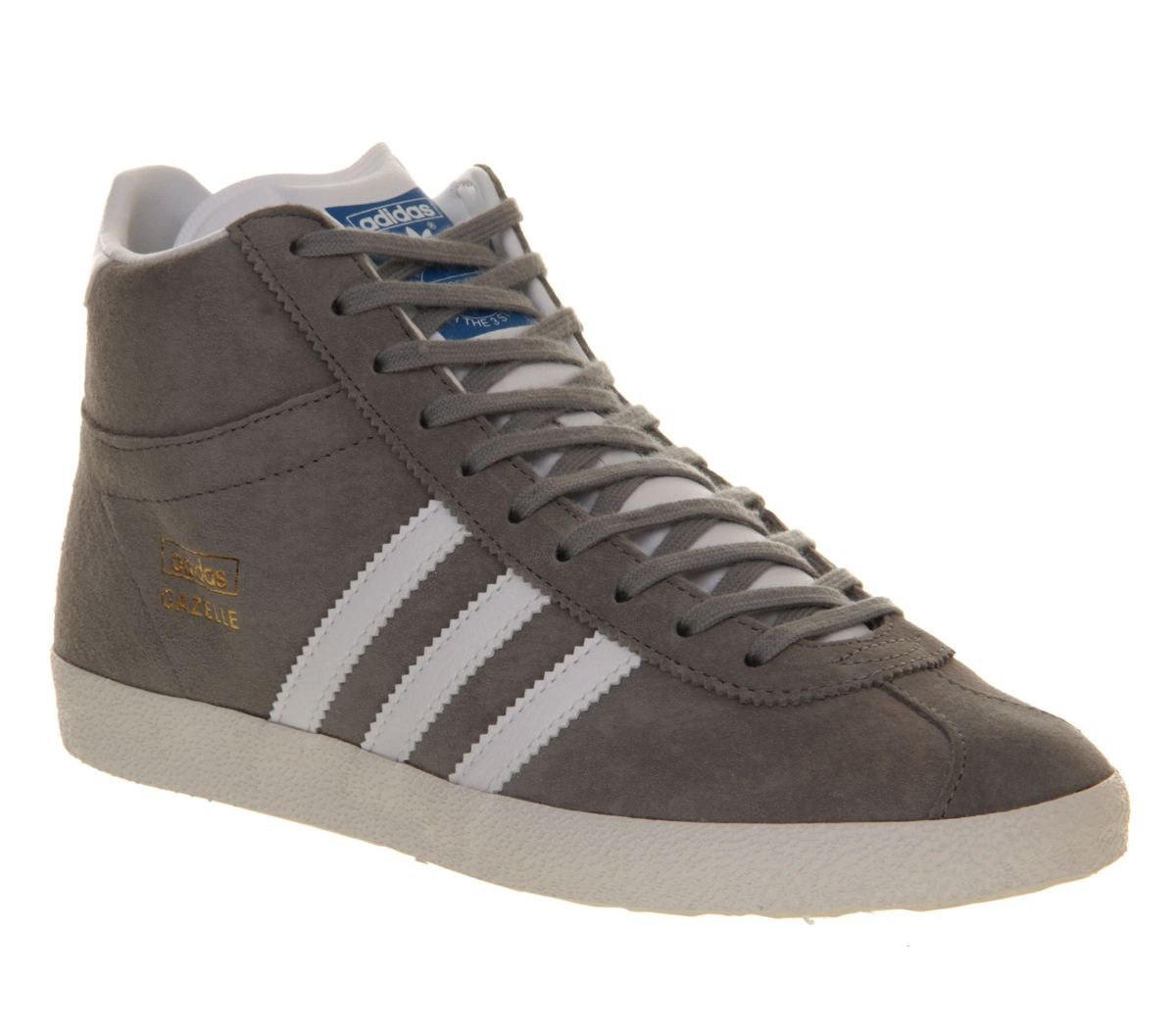 Adidas Gazelle og mid trainers Grey