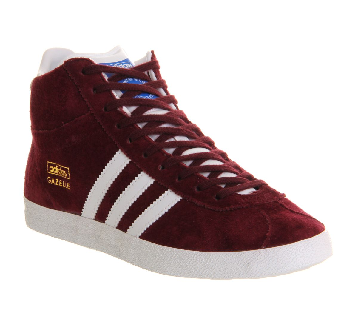 Adidas Gazelle og mid trainers Red
