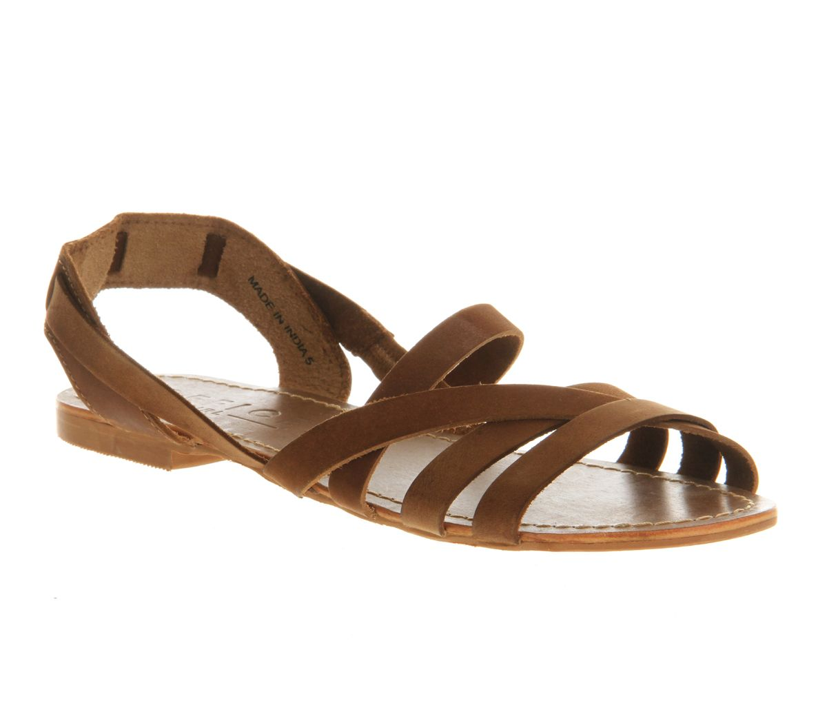 Hideout flat slip on sandals