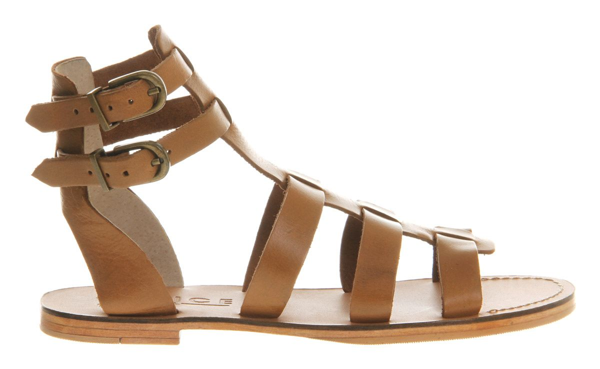 Hendrix leather flat gladiator sandals