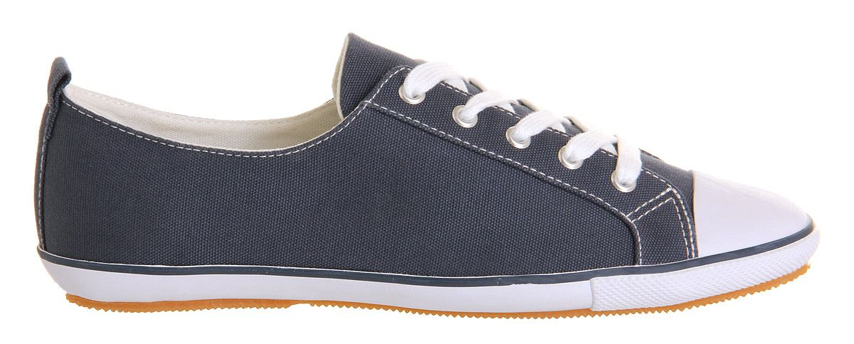 Kite lace up canvas trainers