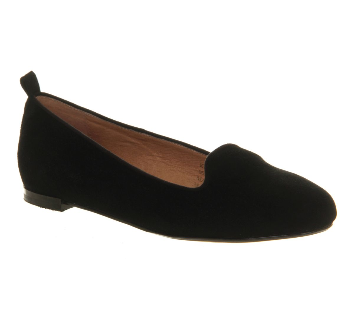 Kwik step suede flat slip on loafer shoes