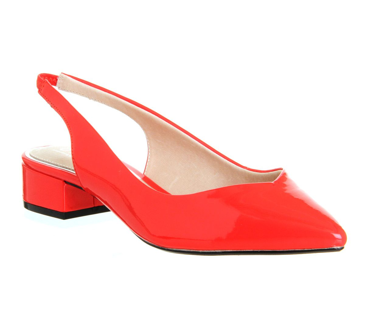 Dingo sling back pointed toe shoes
