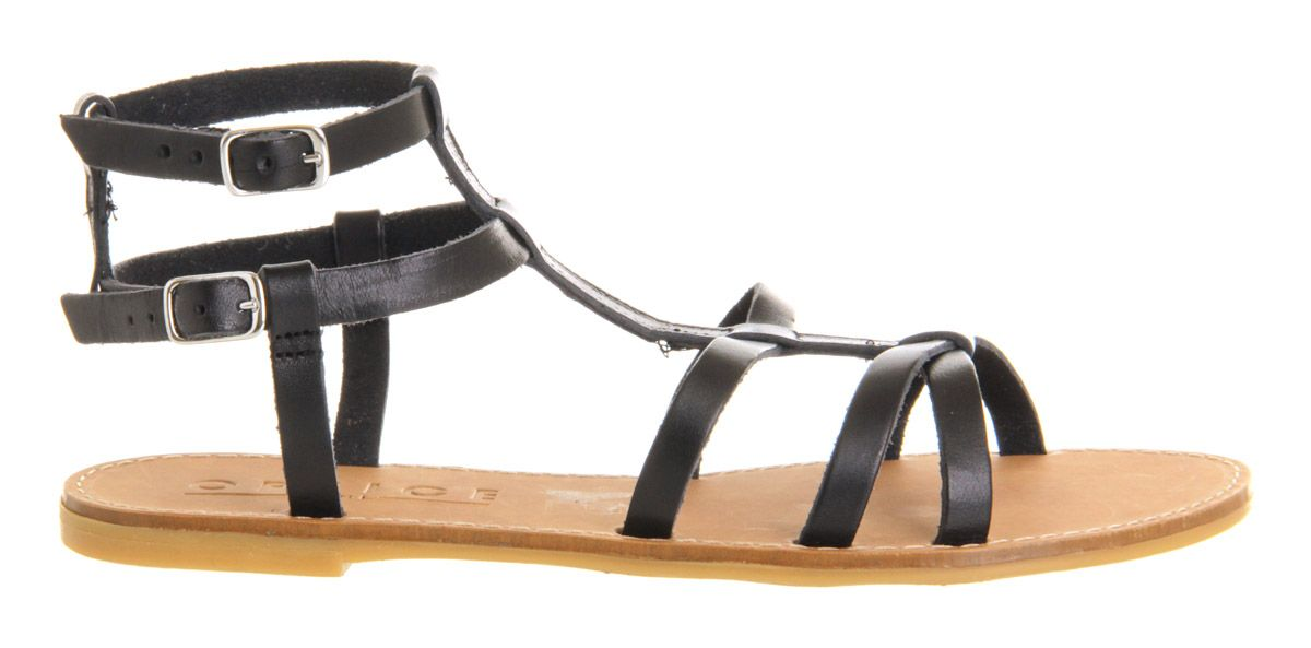 Racy bow high sandals