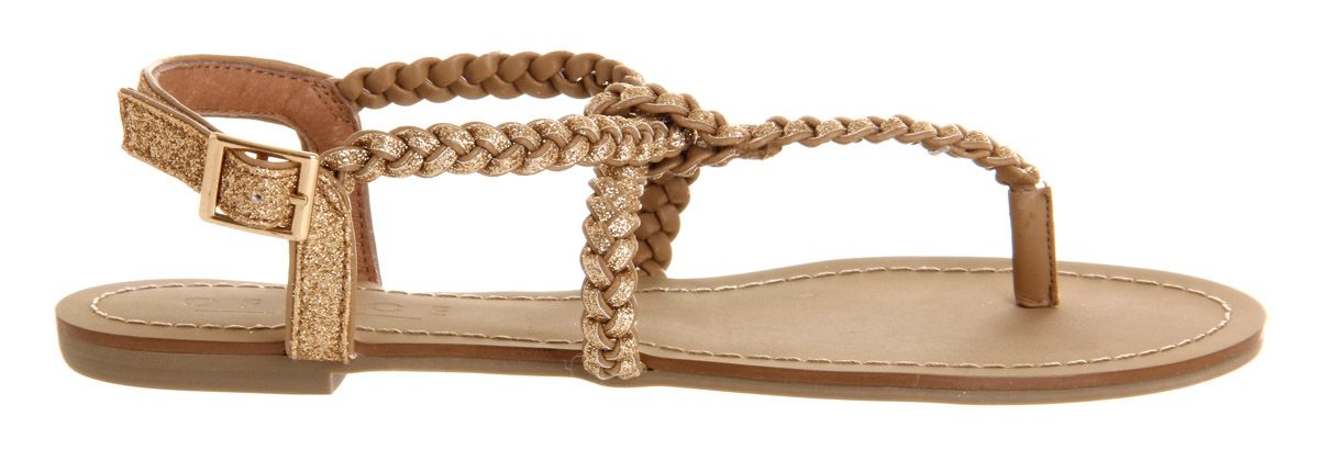 Hummingbird plait sandals