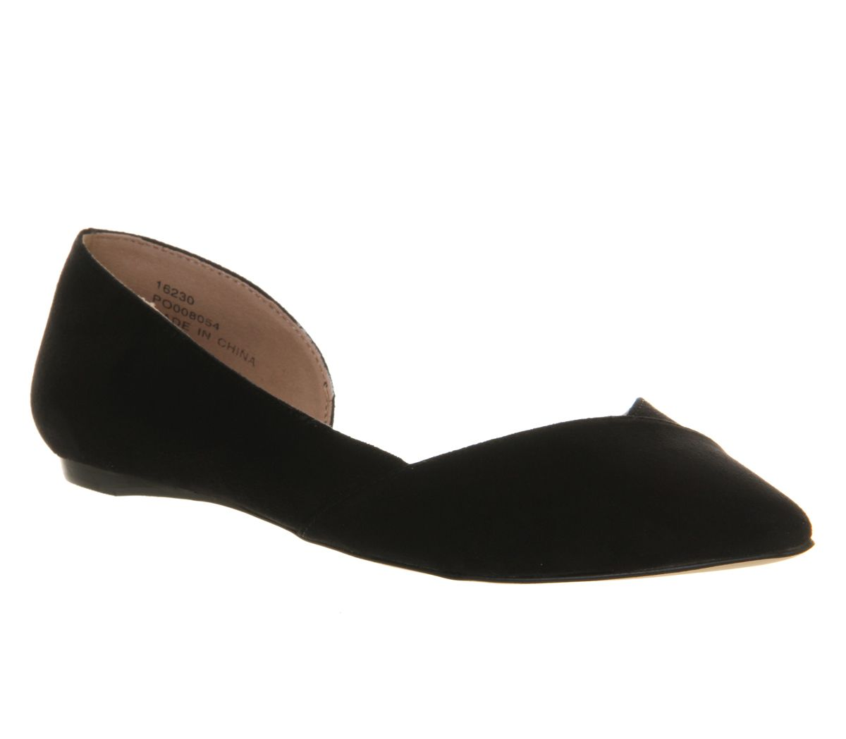 Keepsake dorsay flat slip on shoes