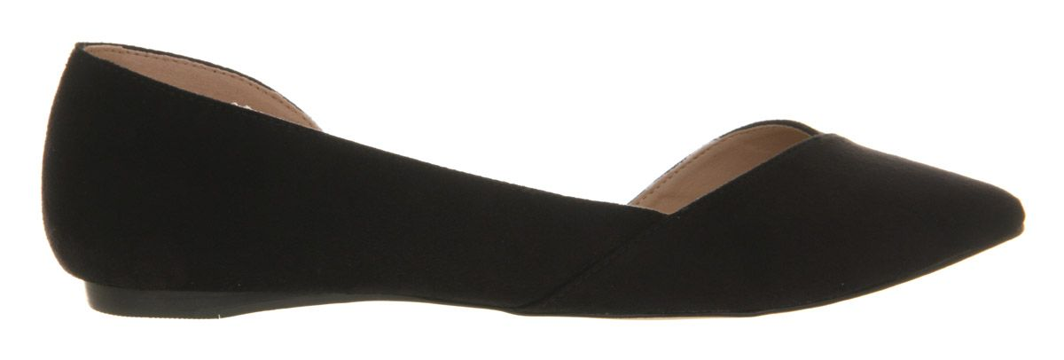 Keepsake point flat pumps