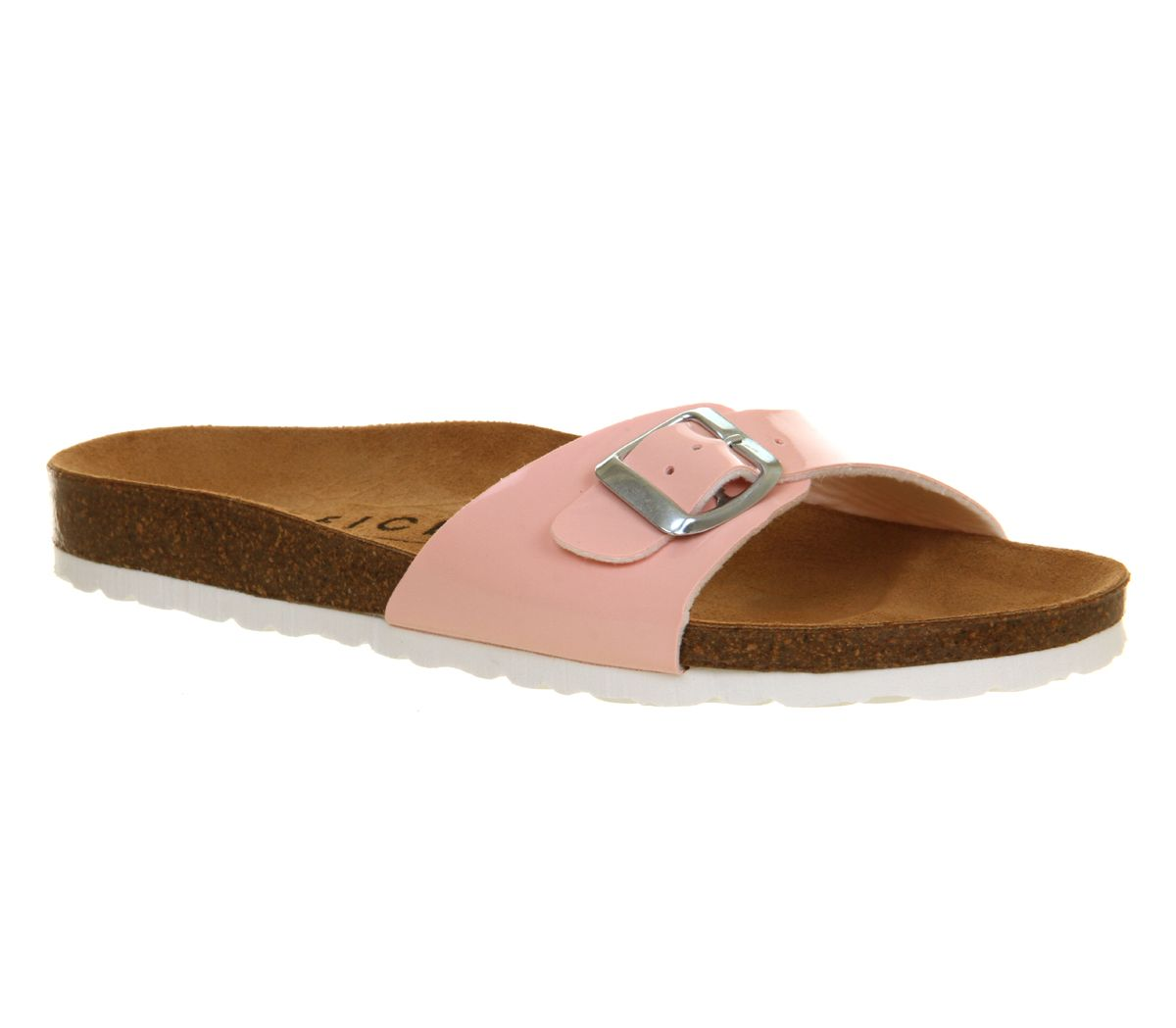 Icon footbed sandals