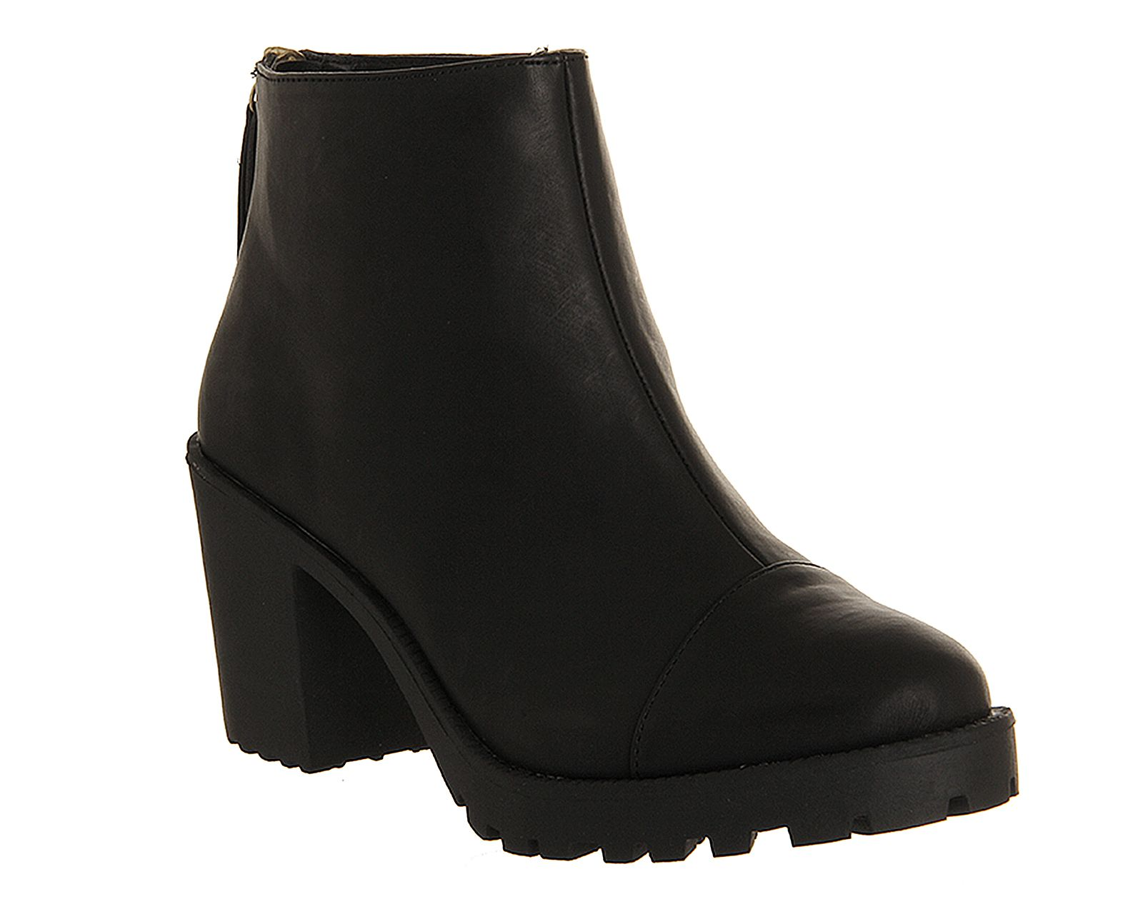 Connie back zip boots