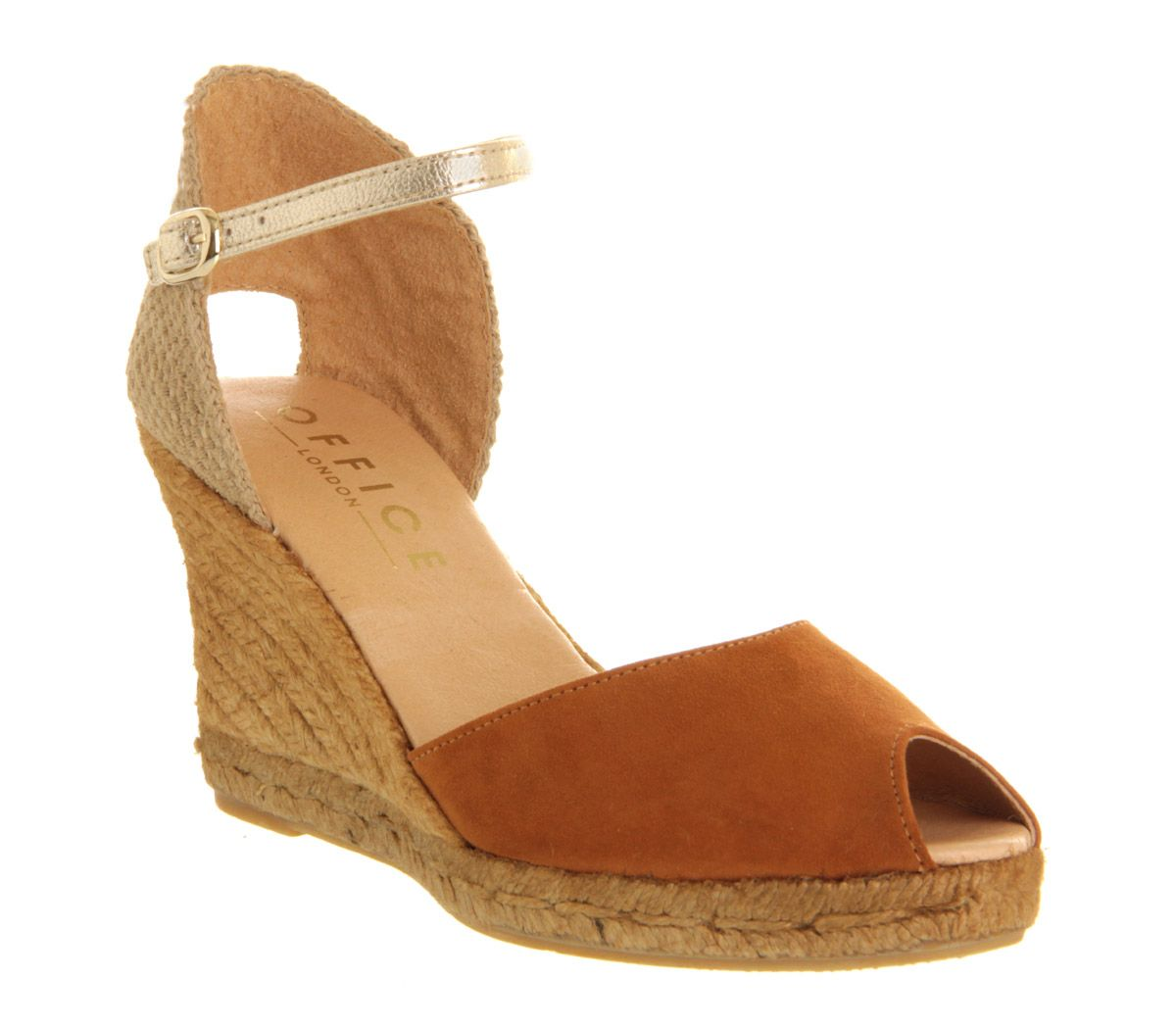 Daisy espadrille wedge sandals